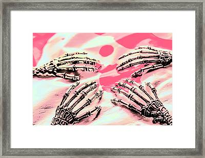 The Arms Of Automation Framed Print