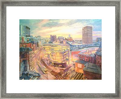 The Arndale Carpark, Manchester Framed Print