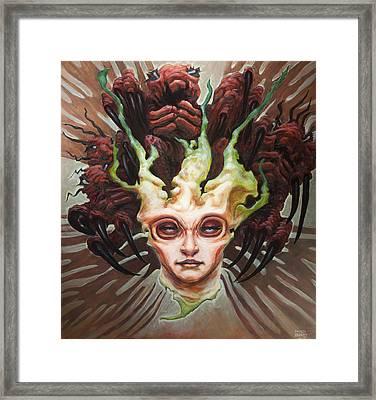 The Array  Framed Print by Ethan Harris