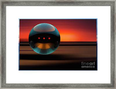 The Arrival 1 Framed Print by Bob Christopher