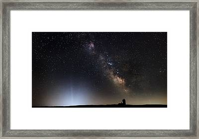 The Arrival Framed Print by Bill Wakeley