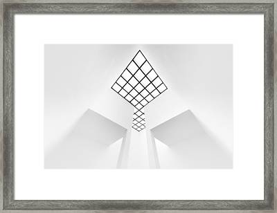 The Arrow Framed Print by Jeroen Van De Wiel