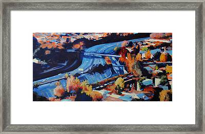 The Arroyo Seco Framed Print