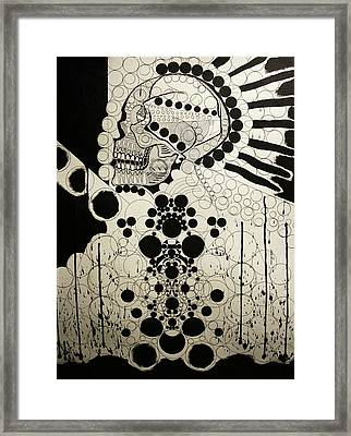 The Art Of Abstraction Framed Print