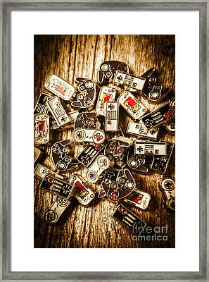 The Art Of Antique Games Framed Print by Jorgo Photography - Wall Art Gallery