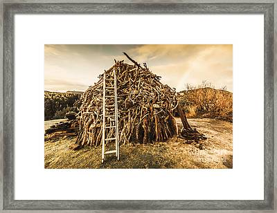 The Art Of Bonfires Framed Print by Jorgo Photography - Wall Art Gallery