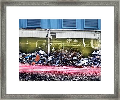 The Art Of Deconstruction Framed Print by Reb Frost