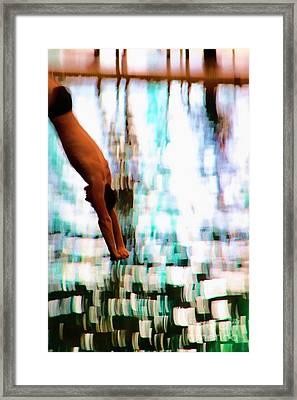 The Art Of Diving 2 Framed Print