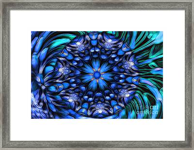 The Art Of Feeling Centered Framed Print