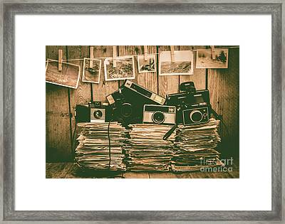 The Art Of Film Photography Framed Print