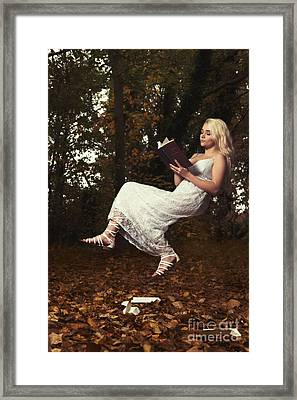 The Art Of Levitation Book Framed Print