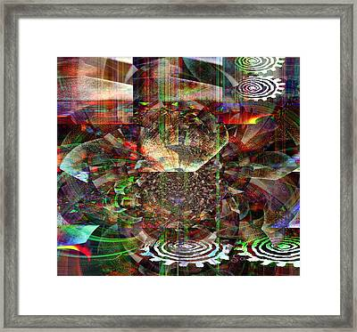 The Art Of Listening - Des Recherches De Sons Framed Print by Fania Simon