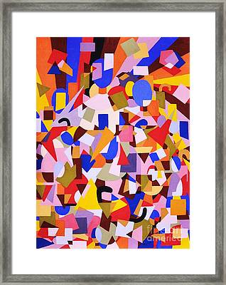The Art Of Misplacing Things Framed Print by Reb Frost