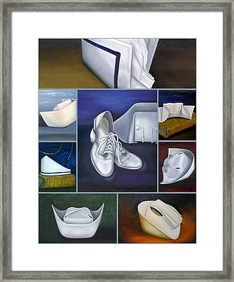 Framed Print featuring the painting The Art Of Nursing by Marlyn Boyd