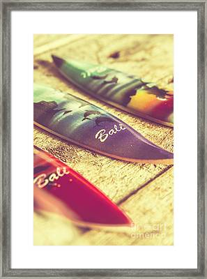 The Art Of Surf Framed Print by Jorgo Photography - Wall Art Gallery