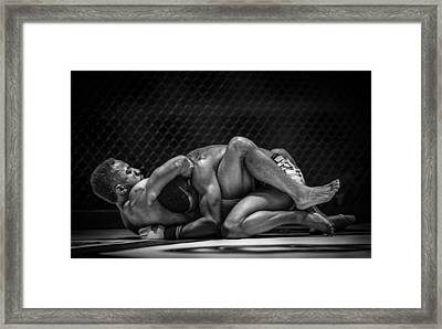 The Art Of The Fight Framed Print