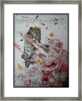 The Art Of The Mirror Framed Print by Rebecca Tacosa Gray