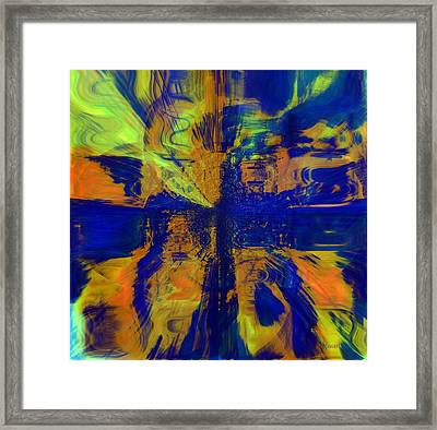 The Art Of Understanding Perspective Framed Print by Fania Simon
