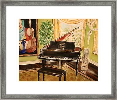 The Art Room Framed Print by Dyanne Parker