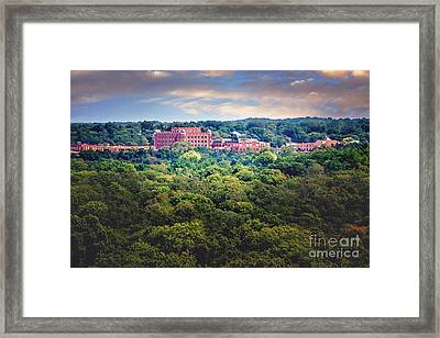 The Artesian Hotel In The Forest In Horizontal Framed Print by Tamyra Ayles