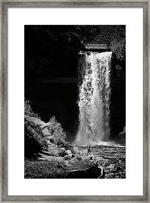 The Artifice Of Control Framed Print
