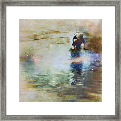 The Artist As A Boy Framed Print