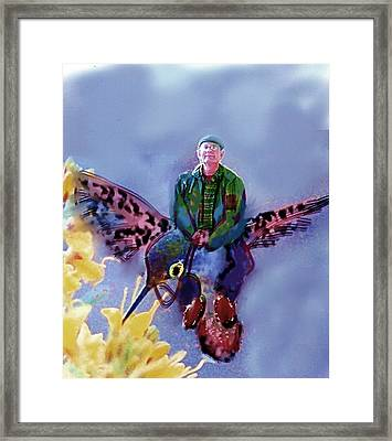 The Artist Can Do Anything Framed Print by Dave Kwinter