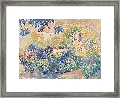 The Artist Garden Framed Print