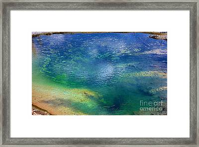 Framed Print featuring the photograph The Artist Pallet by Robert Pearson