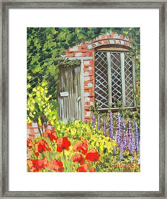 The Artist's Cottage Framed Print