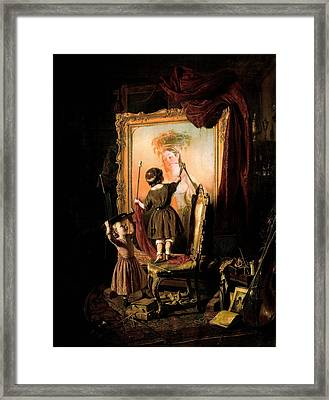 The Artist's Dream Framed Print