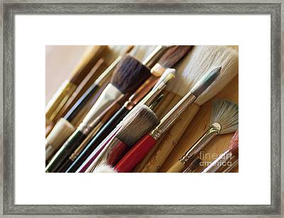Framed Print featuring the photograph The Artist's Studio by Ana V Ramirez
