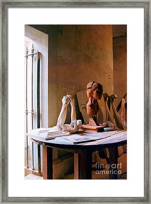Framed Print featuring the photograph The Restoration Studio 3 by Susan Parish