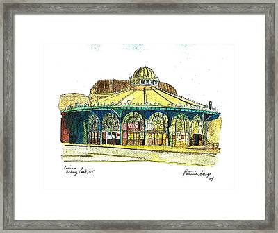 The Asbury Park Casino Framed Print
