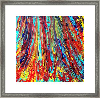 The Ascending Assortment Framed Print