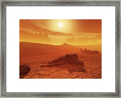The Ash Vessels Framed Print
