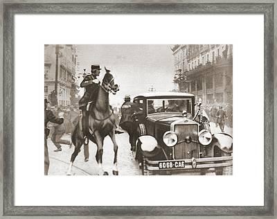 The Assassination Of Alexander I Of Framed Print by Vintage Design Pics