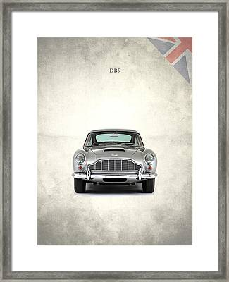 The Aston Martin Db5 Framed Print