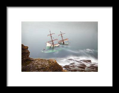 Tall Ships Framed Prints