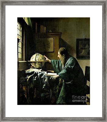 The Astronomer Framed Print