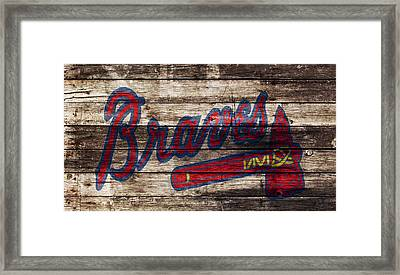 The Atlanta Braves 1w Framed Print by Brian Reaves