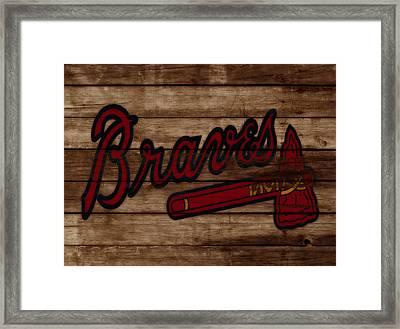 The Atlanta Braves 3b     Framed Print