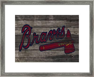 The Atlanta Braves 3e     Framed Print