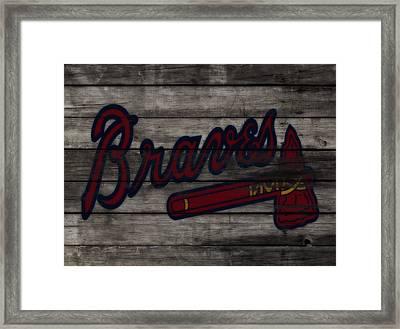 The Atlanta Braves 3f    Framed Print