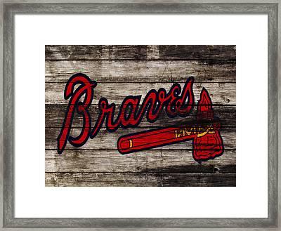 The Atlanta Braves 3h    Framed Print