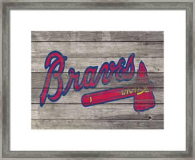 The Atlanta Braves 3i     Framed Print