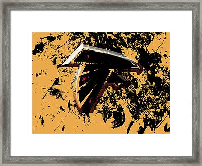 The Atlanta Falcons 1d Framed Print by Brian Reaves