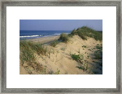The Atlantic Ocean Rolls Framed Print by Stephen Alvarez