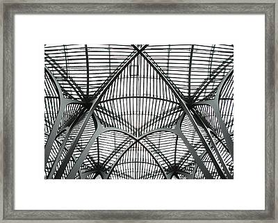 The Atrium At Brookfield Place - Toronto  Ontario Canada Framed Print by Bill Cannon