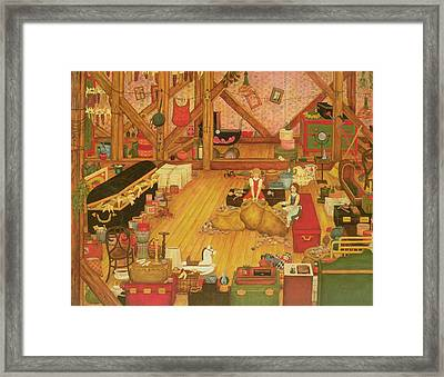 The Attic Framed Print by Ditz